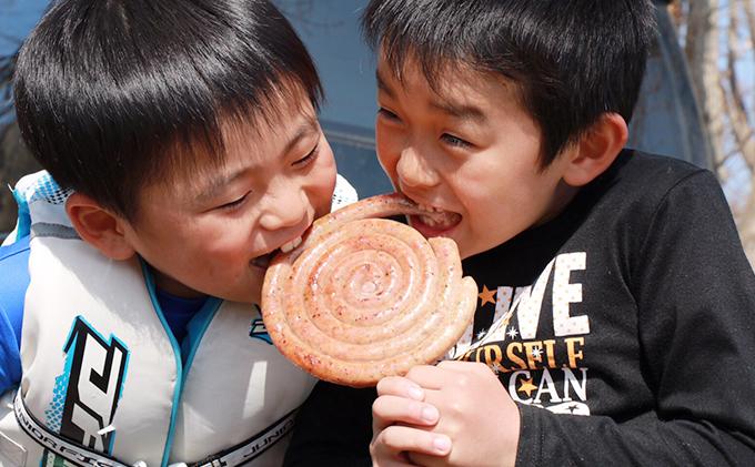 北海道洞爺湖町のふるさと納税 元祖ぐる巻ソーセージ味くらべセット