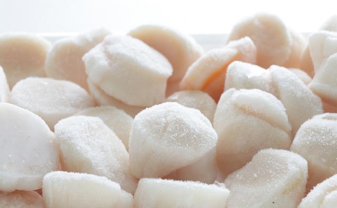 北海道別海町のふるさと納税 北海道野付産 冷凍ホタテ貝柱L 500g