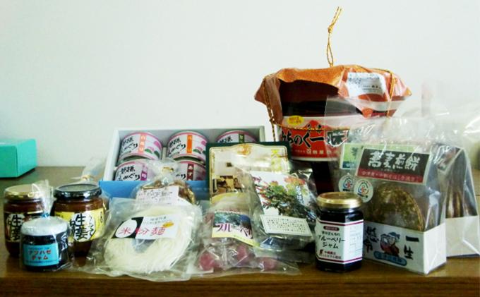 福島県のお礼の品 猪苗代町 特産品詰合せセット