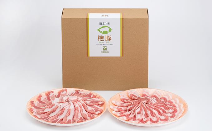 茨城県大子町のふるさと納税 常陸牧場ぶな豚しゃぶしゃぶ用