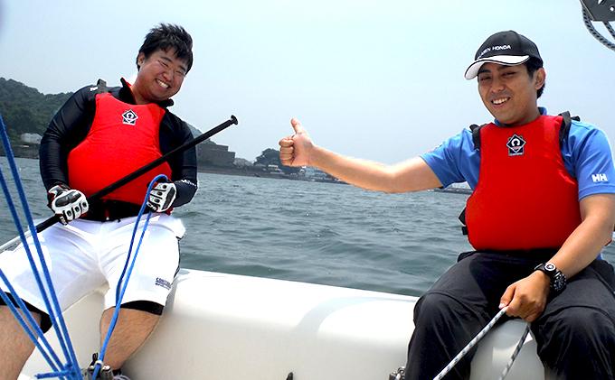 【ふるさと納税特別プラン】ペアで楽しむ操船できるヨット体験!