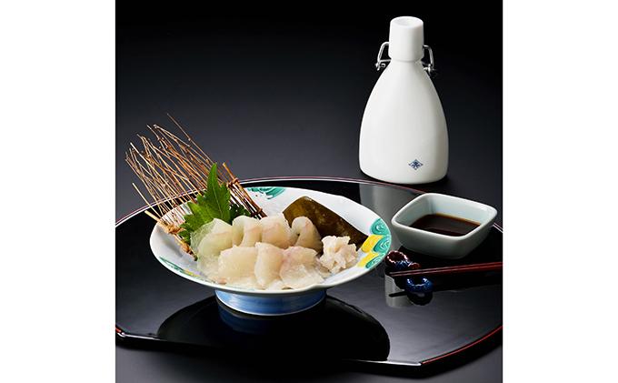 富山県射水市のふるさと納税 平目の昆布締め中六醤油セット