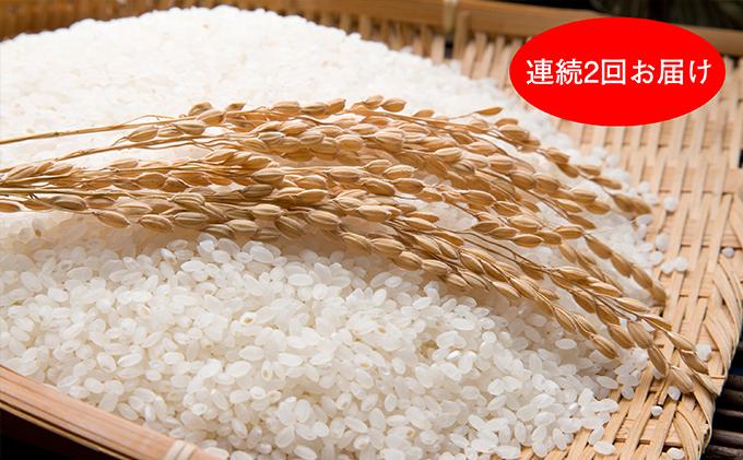 石川県産有機栽培米コシヒカリ「もりひろ」6.5kg 2回連続お届け