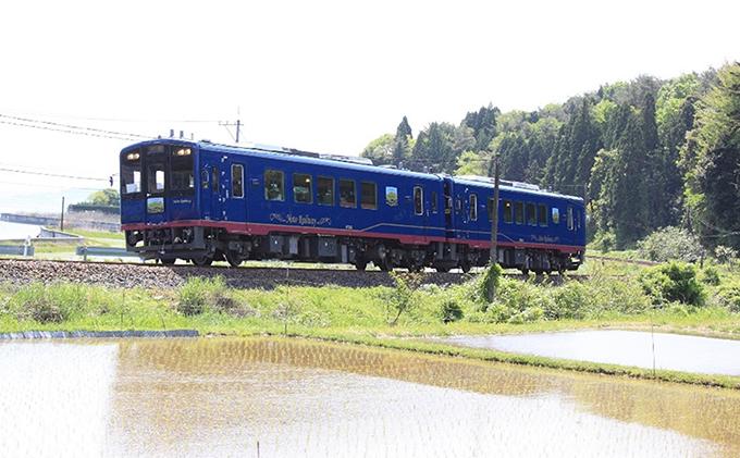 ふるさと納税の返礼品 のと鉄道スイーツ観光列車の旅
