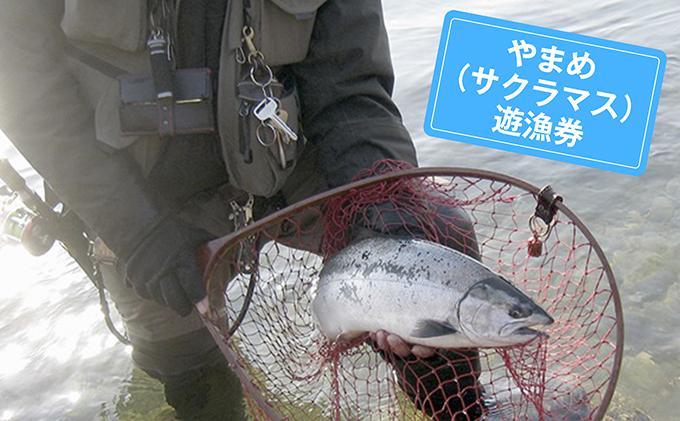福井県永平寺町のふるさと納税 やまめ(サクラマス)年間遊漁券(2020年度)