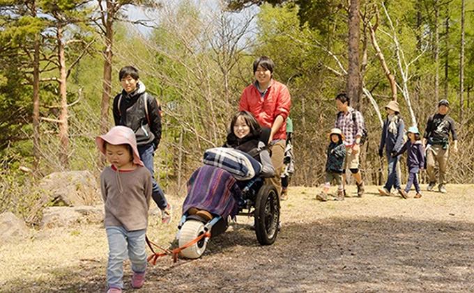 長野県富士見町のふるさと納税 ユニバーサルガイド付き周遊ツアー利用券