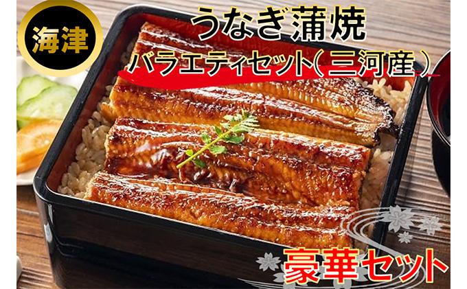 おすすめの返礼品 うなぎ蒲焼バラエティセット(三河産)