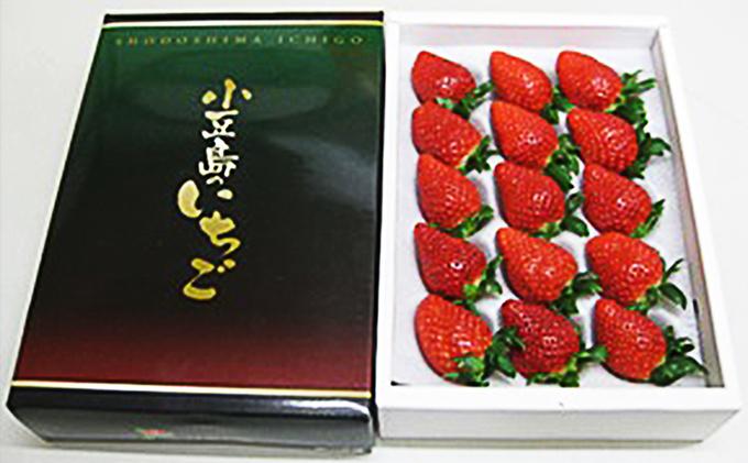 小豆島のいちご(女峰) 500g化粧箱入り